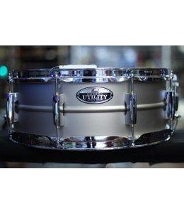 """Pearl Pearl Modern Utility 14""""x5.5"""" Beaded Steel Snare Drum"""