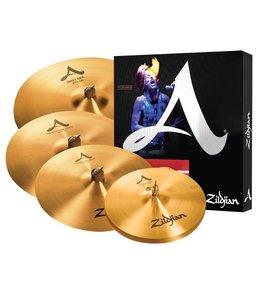 Zildjian Zildjian A Set w/ Sweet Ride & Free 18 in Crash
