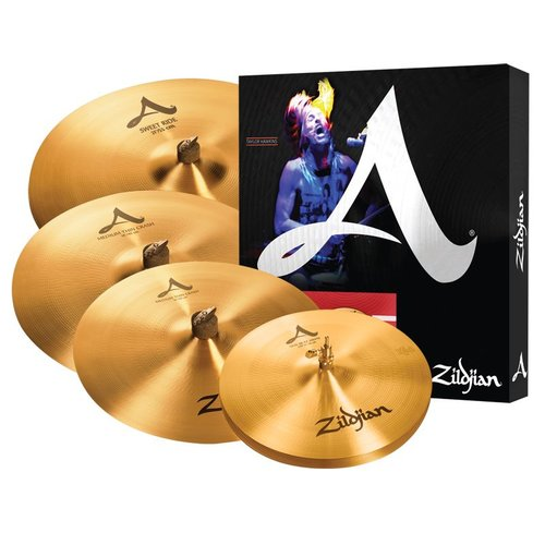 "Zildjian Zildjian A Set w/ Sweet Ride & Free 18"" Crash"