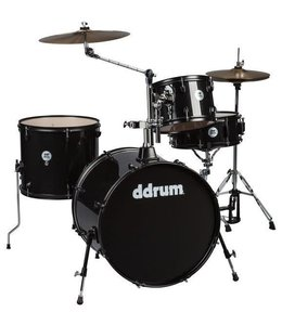 DDrum ddrum D2 4pc Rock Drum Kit Black Sparkle