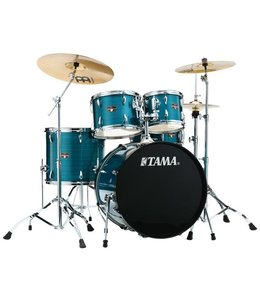 Tama Tama Imperialstar 5pc Hairline Blue Kit w HW and Cymbals