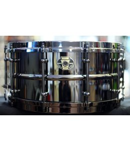 Ludwig Ludwig 6.5 x 14 Black Magic Snare - Black Nickel Hardware