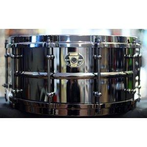 "Ludwig Ludwig 6.5 x 14"" Black Magic Snare - Black Nickel Hardware"