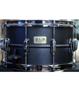 Tama Used Tama S.L.P. Big Black Steel 14 x 8 in Snare Drum