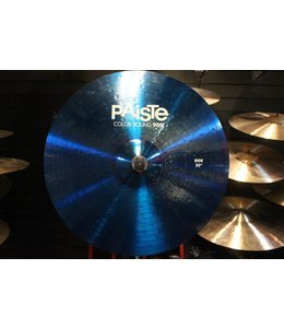 Paiste Used Paiste Color Sound 900 20 in Ride - Blue