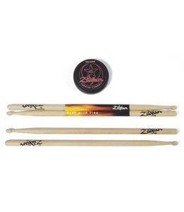 Zildjian Zildjian 5A Stick - 3 in Practice Pad Pack