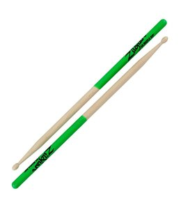 Zildjian Zildjian 5A Maple Green Dip Drumsticks
