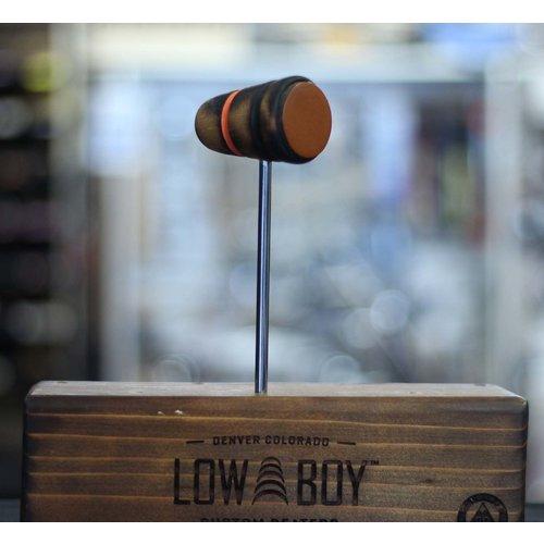 Low Boy Low Boy Leather Daddy - Burnt w/ Orange Stripe