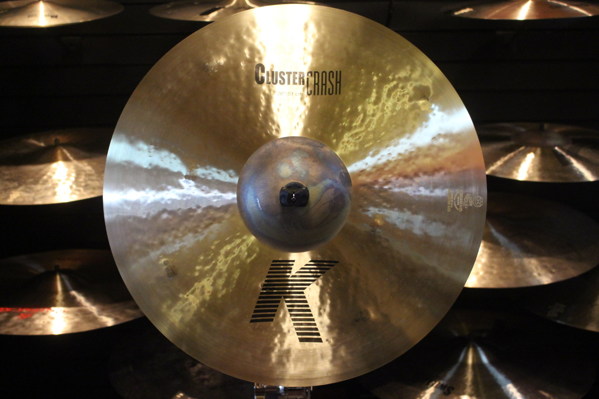 Zildjian K 20 in Cluster Crash