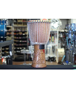 Used African 12 in Djembe Handmade in Senegal