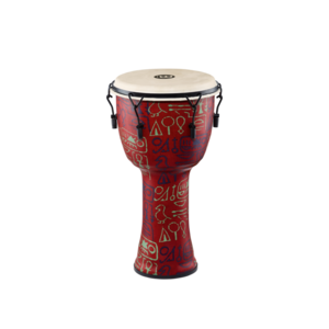 "Meinl Meinl 12"" Travel Series Mechanical Tuned African Djembe Pharaoh's Script w / Goat Skin"