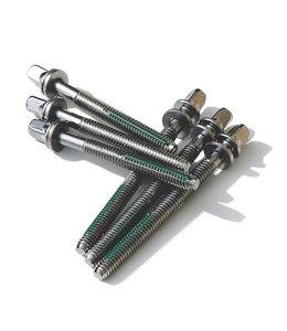 """TIGHT SCREW Tight Screw DW 2.6"""" 68mm Tension Rod 4pk TS68DW-4"""