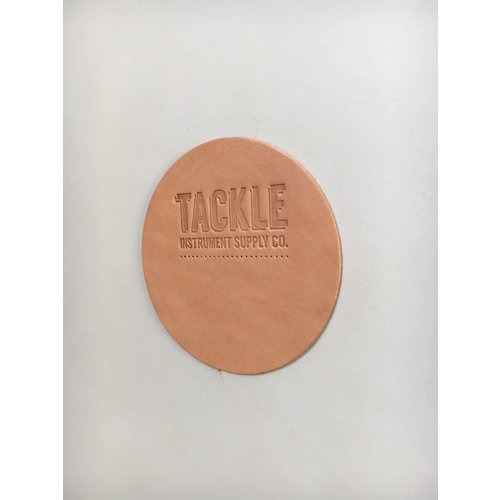 Tackle Instrument Supply Tackle Large Leather Bass Drum Beater Patch - Natural