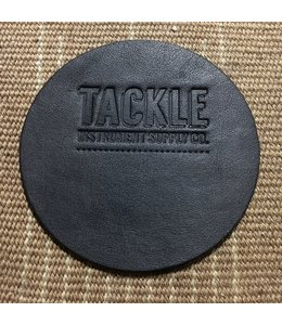 Tackle Instrument Supply Tackle Leather Bass Drum Beater Patch - Black