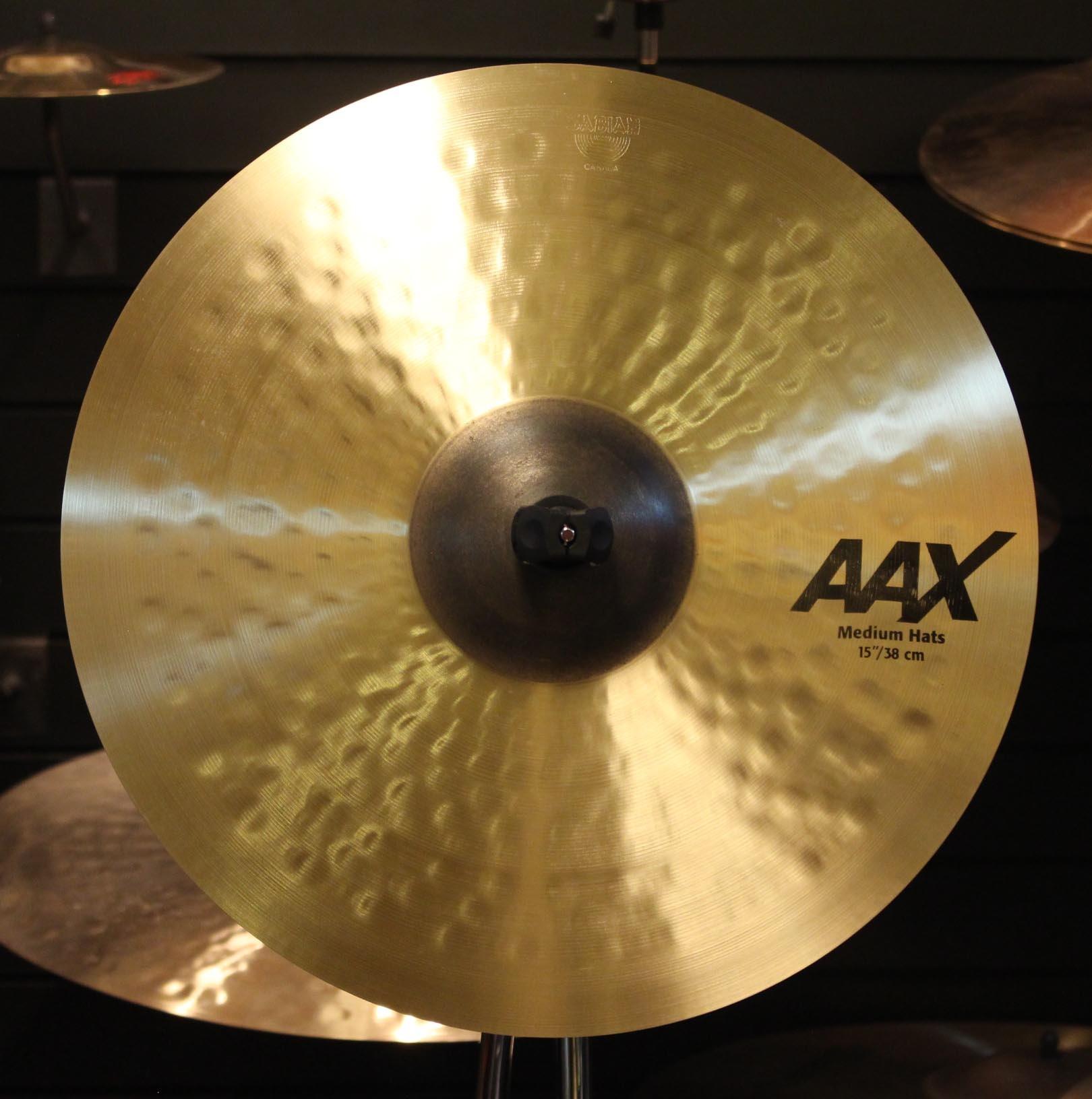 Sabian Aax 15 In Medium Hats Rupps Drums