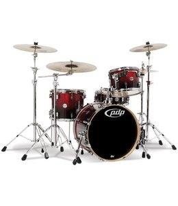 PDP PDP CM4 Concept Maple Drum 4-Piece Shell Pack - Red to Black Fade