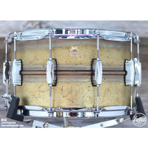 Ludwig Ludwig 8x14 in Raw Brass Phonic Snare Drum
