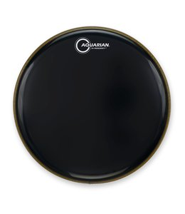 Aquarian Aquarian Hi Frequency Gloss Black Bass Drumhead