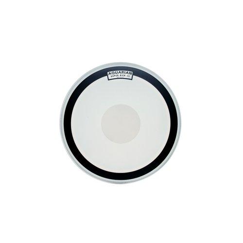 Aquarian Aquarian Superkick Coated Single Ply Bass Drumhead w/ Power Dot