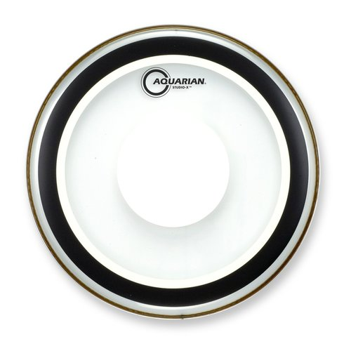 Aquarian Aquarian Studio X Clear Drumhead w/ Power Dot