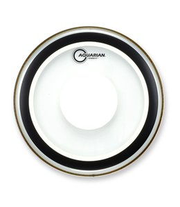 Aquarian Aquarian Studio X Clear Bass Drumhead w/ Power Dot