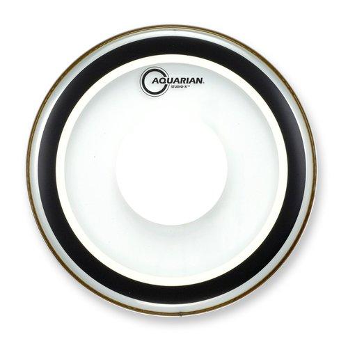 Aquarian Aquarian Studio X Clear Bass Drumhead w/ Power Dot