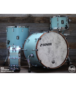 Sonor Sonor SQ1 3pc Shell Pack w/ 22 in Bass Drum-Cruiser Blue