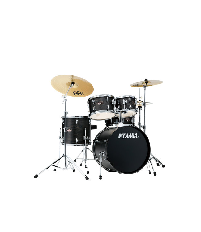 Tama Tama Imperialstar 5pc Drum Set w/ 20 in Bass Drum and Meinl HCS Cymbals