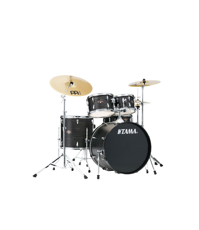 Tama Tama Imperialstar 5pc Drum Set w/ 22 in Bass Drum and Meinl HCS Cymbals
