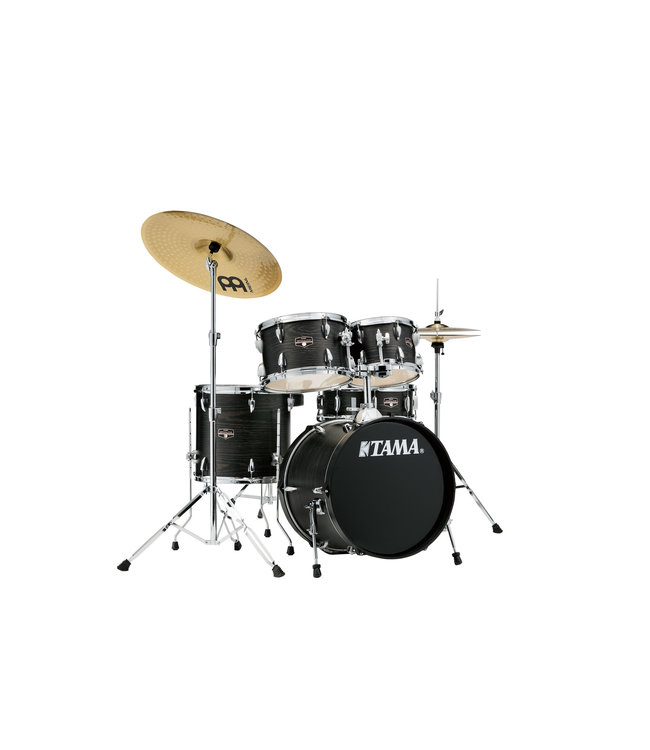 Tama Tama Imperialstar 5pc Drum Set w/ 18 in Bass Drum and Meinl HCS Cymbals