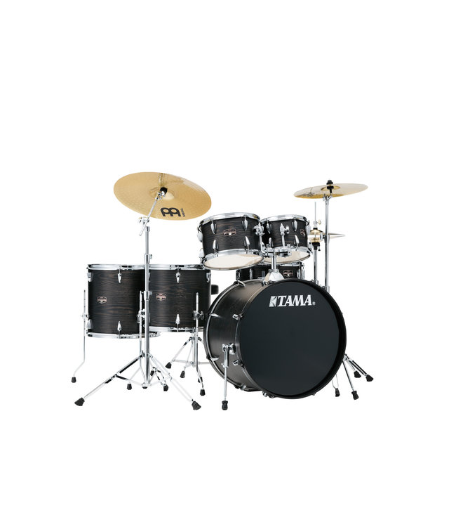 Tama Tama Imperialstar 6pc  Drum Set w/ 22 in Bass Drum and Meinl HCS Cymbals