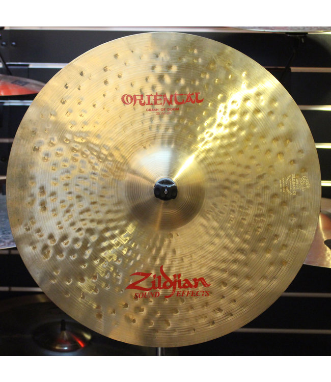Zildjian Used Zildjian 20 in Crash Of Doom