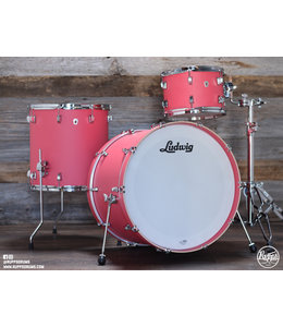 Ludwig Ludwig Nuesonic 3pc Shellpack - Coral Red
