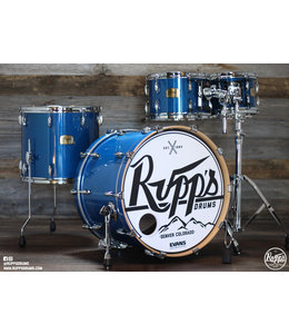 Pearl Pearl Session Studio Classic 4pc Shell Pack-Sheer Blue-Fesival Demo