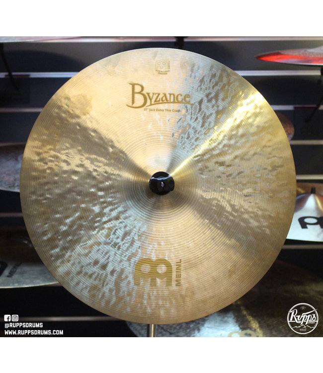 "Meinl Meinl 18"" Byzance Jazz Extra Thin Crash"