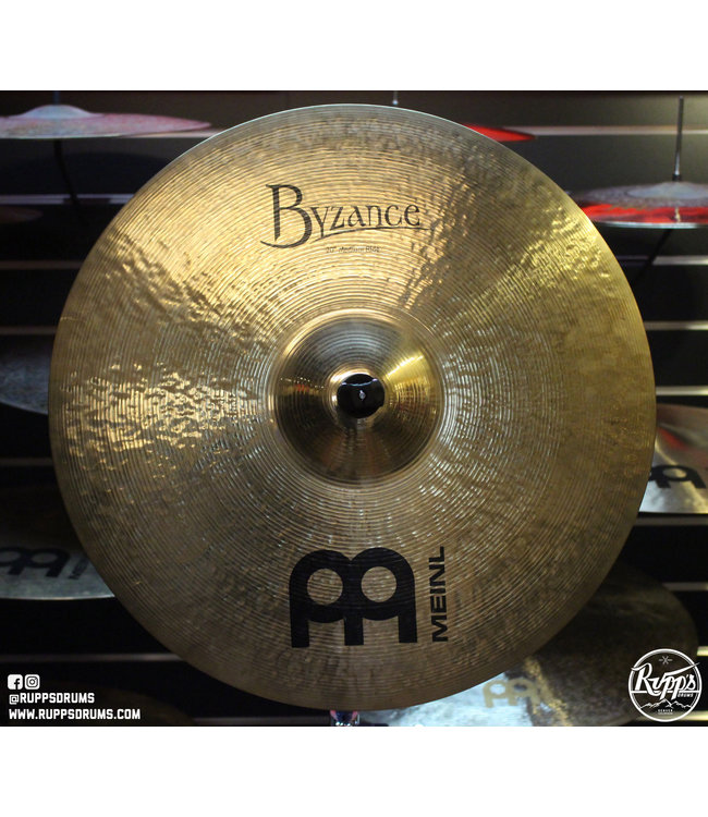 "Meinl Meinl Byzance 20"" Medium Ride, Brilliant"