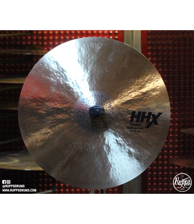 "Sabian Sabian 15"" HHX Complex Medium Hats"