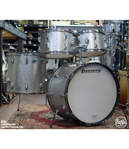 Ludwig Used Ludwig 1970's Silver Sparkle Hollywood 4pc