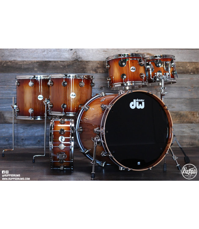 DW DW Collector's Limited Edition Almond 6pc Shell Pack - Nickel Hardware