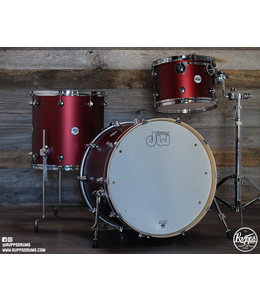 DW DW Design Series Holiday 2019 3pc Shell Pack-Crimson Satin Metallic