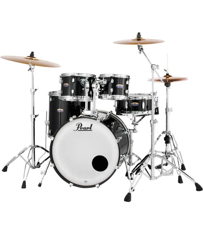 Pearl Pearl Decade Maple 5pc Shell Pack-Black Ice Festival Demo