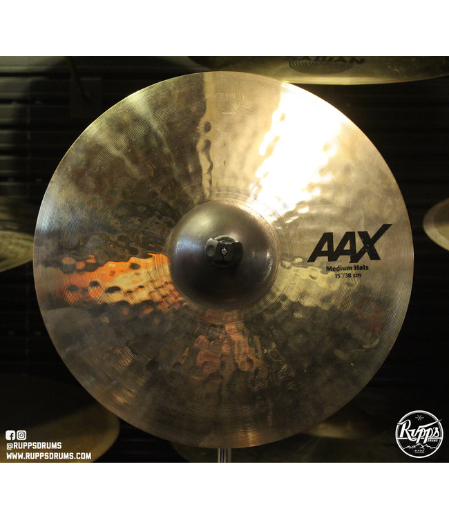 "Sabian Sabian 15"" AAX Medium Hi-Hats"