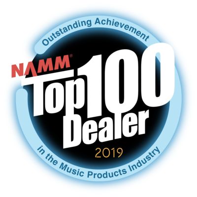 Rupp's Drums is a NAMM Top 100 Dealer!