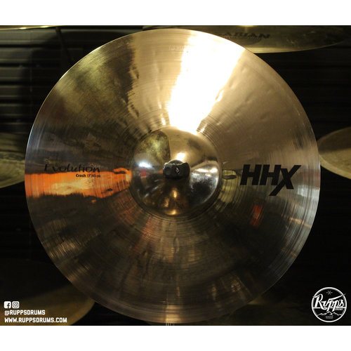 "Sabian Sabian 17"" HHX Evolution Crash Brilliant Finish"