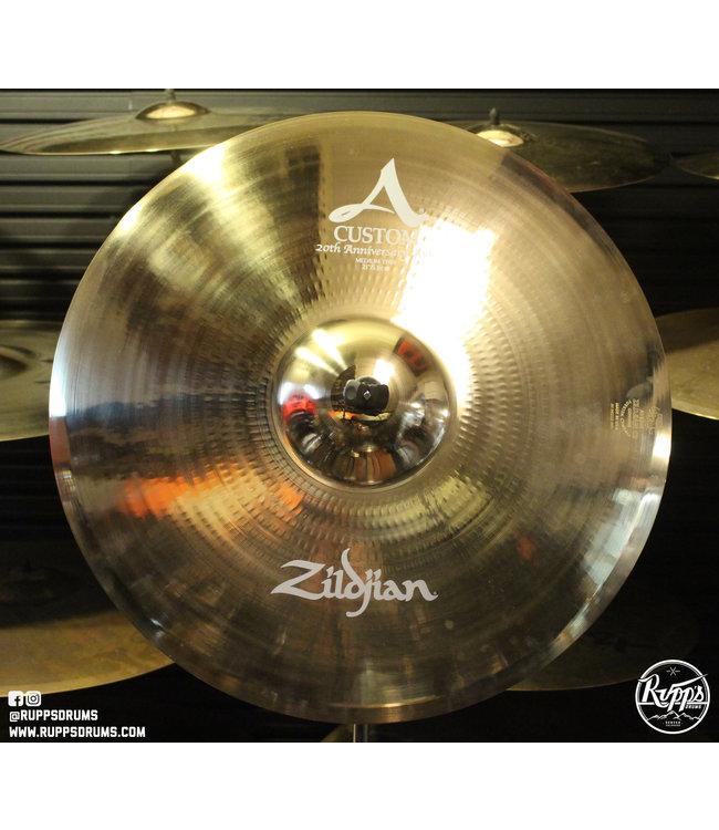 "Zildjian Zildjian 21"" A Custom 20th Anniversary Ride"