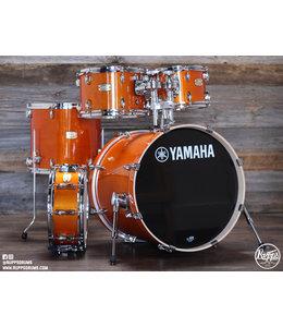 "Yamaha Yamaha Stage Custom Birch 5-Piece Shell Pack w/ 20"" Bass Drum Honey Amber"
