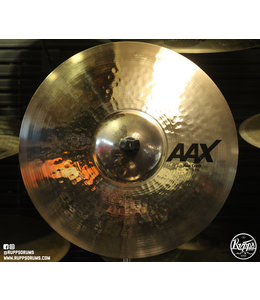 "Sabian Sabian 16"" AAX Thin Crash Cymbal Brilliant Finish"