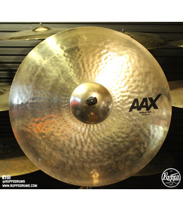 "Sabian Sabian 22"" AAX Medium Ride Brilliant Finish"