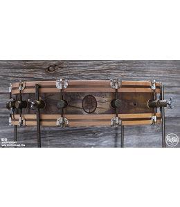 "A&F Drum Co. A&F Drum Co. 4""x18"" Gun Shot Snare w/legs"