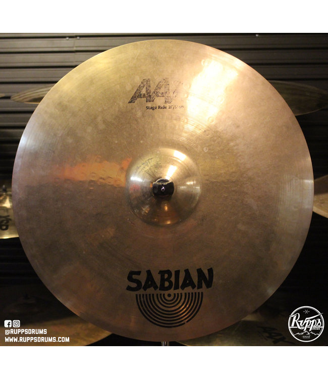 "Sabian Used Sabian 21"" AAX Stage Ride"